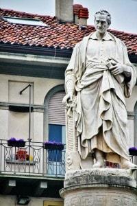 Como, monumento dedicato ad Alessandro Volta