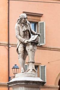 Bologna, monumento a Luigi Galvani