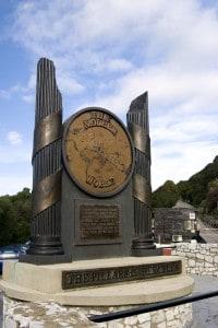 Colonne d'ercole. Secondo la leggenda si trovavano a Gibilterra