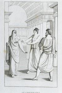 Vittorio Alfieri, Agamennone. Illustrazione del 1820