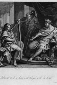 Una rappresentazione di Saul e Davide