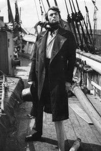 Gregory Peck impersona Achab in uno dei più famosi film ispirati a Moby Dick