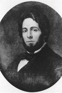 Il romanziere americano Herman Melville