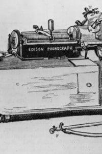 Il fonografo di Thomas Edison