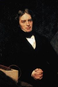 Ritratto di Michael Faraday