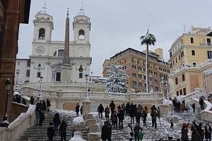 Trinità dei Monti il 26 febbraio a Roma