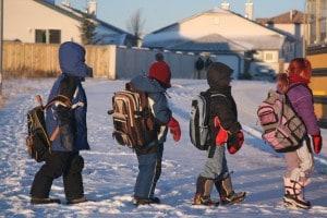 Scuole chiuse per neve, maltempo ed elezioni: si teme che lo stop possa durare fino a 9 giorni