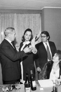Dino Buzzati con sua moglie Almerina Antoniazzi