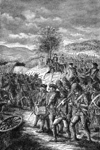 La battaglia di Saratoga