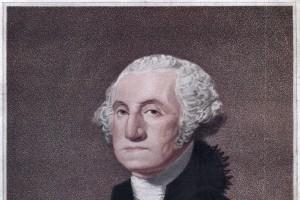 George Washington, 1° presidente degli Stati Uniti d'America