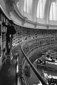 La sala di lettura circolare del British Museum, inaugurato in questo periodo