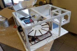 Autodoc Systems durante la costruzione