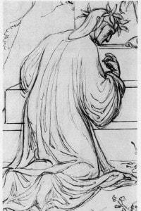 J. A. Koch, Dante e l'Angelo del Purgatorio