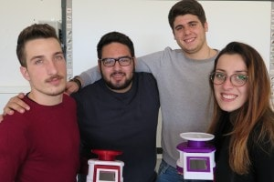 I quattro maturandi del team di A-Scales