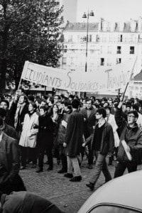 La protesta degli studenti francesi nel 1968