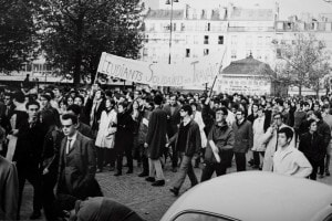Il maggio '68 in Francia