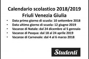 Calendario Scolastico Emilia.Calendario Scolastico 2018 2019 Scuole Chiuse Per Elezioni