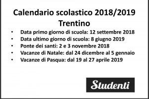 Calendario Aprile 2018 Con Festivita.Calendario Scolastico 2018 2019 Scuole Chiuse Per Elezioni