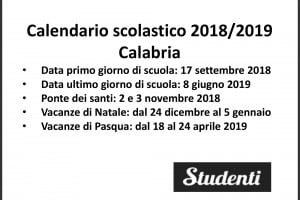 Calendario Scuola Campania.Calendario Scolastico 2018 2019 Scuole Chiuse Per Elezioni