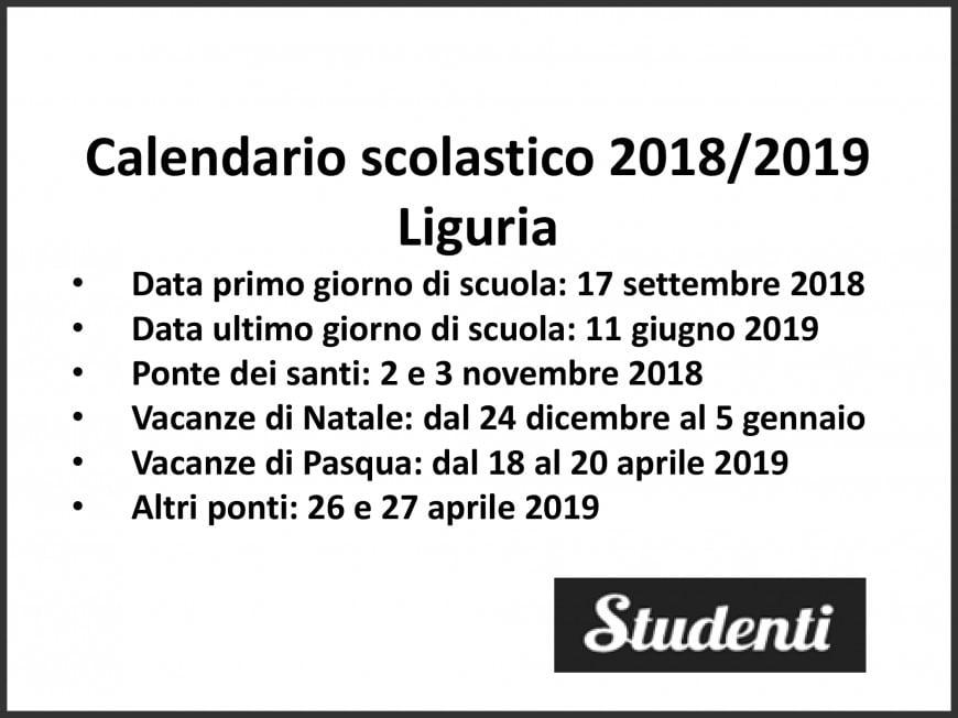 Calendario Scolastico Liguria 2020 2020.Calendario Scolastico Liguria Calendario 2020