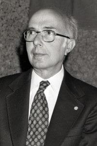 Renato Dulbecco, premio Nobel per la Medicina nel 1975