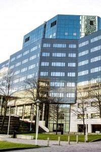 La sede dell'Agenzia Europea per i Medicinali (EMA)