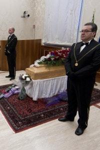 La camera ardente allestita per Rita Levi Montalcini,  31 dicembre 2012, Roma