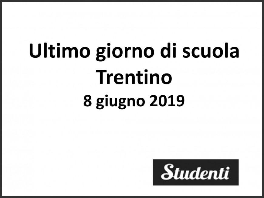 Ultimo giorno di scuola 2019 Trentino