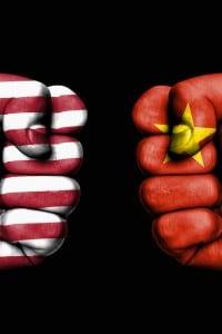 Un'immagine che ben rappresenta il confronto tra l'Oriente e l'Occidente