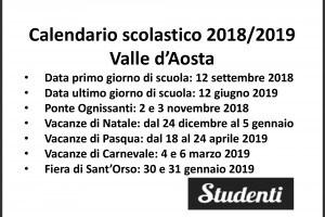 Miur Calendario Scolastico.Calendario Scolastico 2018 2019 Scuole Chiuse Per Elezioni