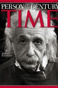 Albert Einstein eletto persona del XX secolo dal Time