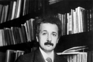 Un giovane Albert Einstein