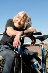 Margherita Hack era appassionata di bici da corsa