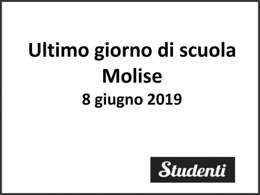 Ultimo giorno di scuola 2019 Molise