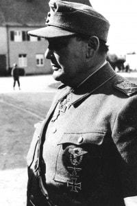 Hermann Goering al momento del suo arresto, prima del processo a Norimberga