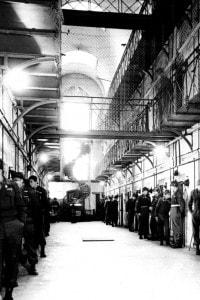 Prigione di Norimberga durante le fasi del processo