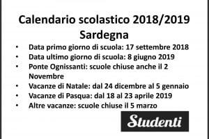 Calendario Scolastico Regione Lombardia.Calendario Scolastico 2018 2019 Scuole Chiuse Per Elezioni