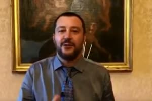 Il Ministro Matteo Salvini e l'augurio per gli studenti della maturità 2018