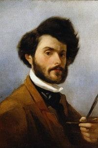 Giovanni Fattori, Autoritratto, 1854