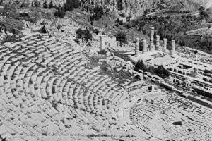 Antico Teatro di Delfi