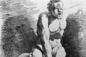 Un ciclope della mitologia greca