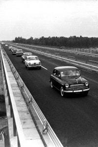 Autostrada del Sole, foto del 1959