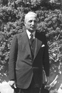 Enrico De Nicola, capo provvisorio dello Stato eletto dalla Costituente il 28 giugno 1946