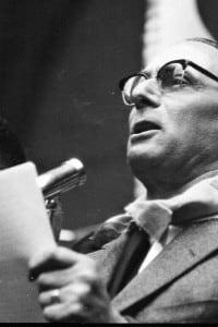 Enrico Mattei a Roma negli anni 60