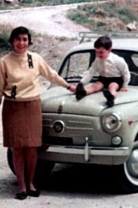 Foto storica della Fiat Seicento