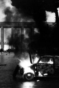Scontri alla Sapienza di Roma nel 1968