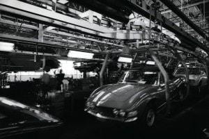 Stabilimento FIAT negli anni '70