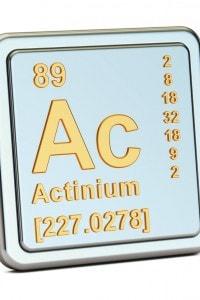 Attinio, capostipite della famiglia radioattiva