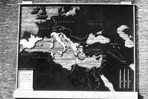 I confini dell'Impero Romano dopo le Guerre Puniche