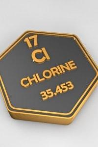 Massa atomica del cloro